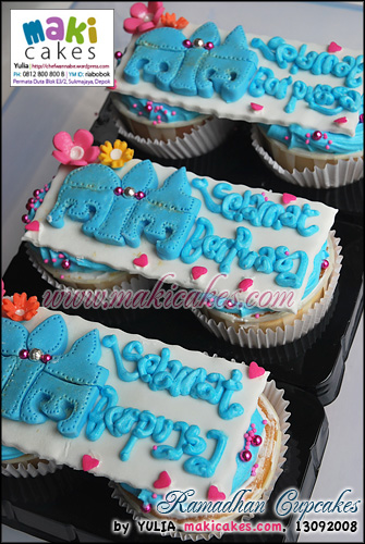 Ramadhan Cupcakes_ - Maki Cakes