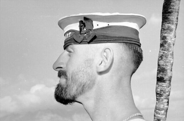 Unidentified crew member on HMAS Hobart