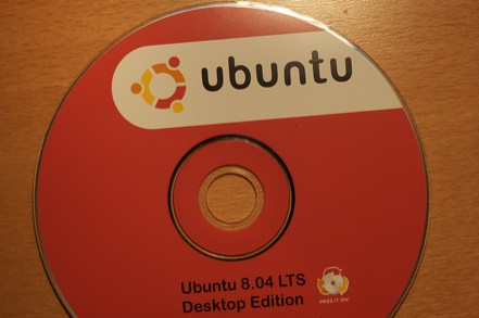 CD Ubuntu 8.04 LTS