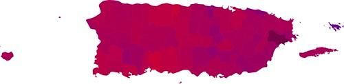 Puerto Rico ratio map (RGB)