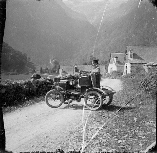 Auto Béraldi, Luchon, Vallée du Lys, 1904