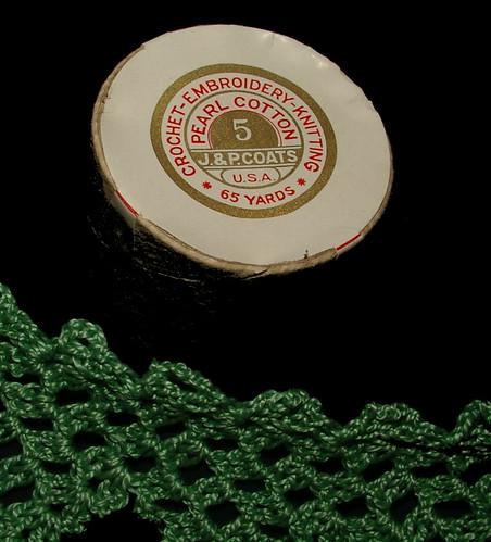 vintage thread size 5 pearl cotton