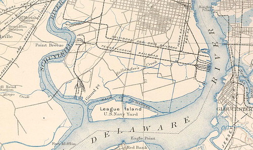 League_Island_1891_Map