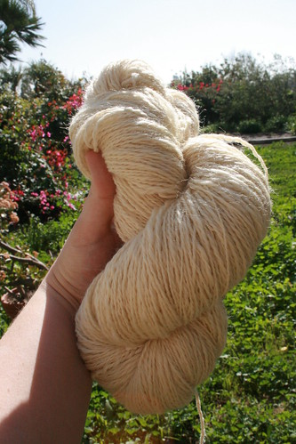 Yes, it is a big skein & Im seriously happy!