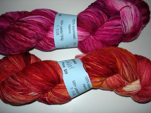 Mmmm sock yarn