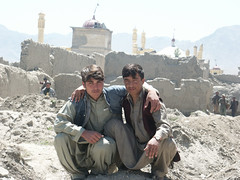 Destroyed Kabul