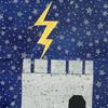 Lightning struck tower