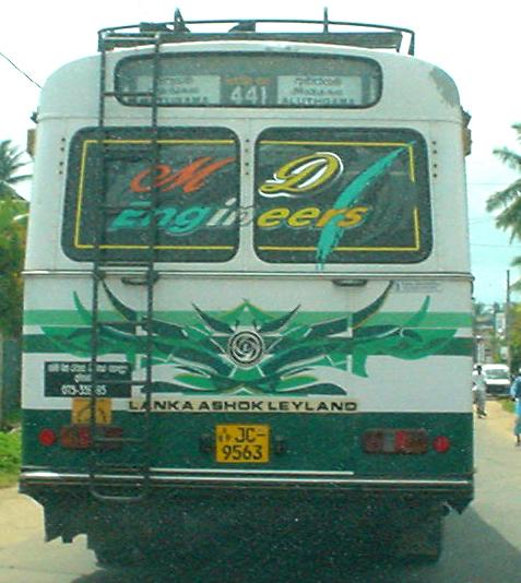 Aluthgama bus