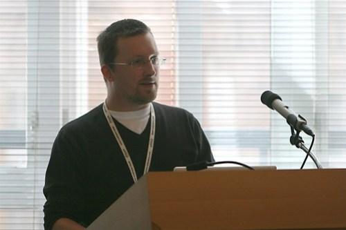 Chris Garrett WordCampUK 2008