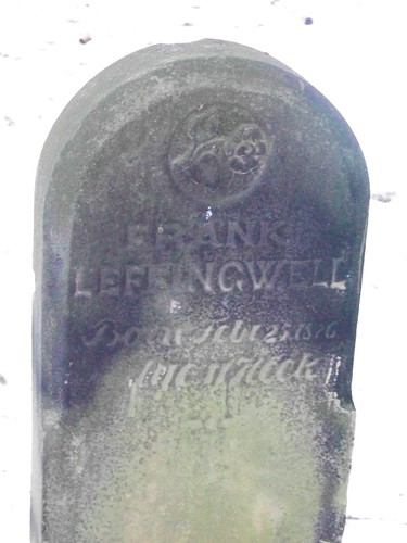 Frank Leffingwell Tombstone