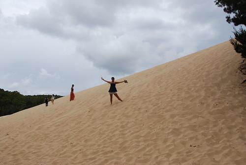 La duna que da a Lake Wabie