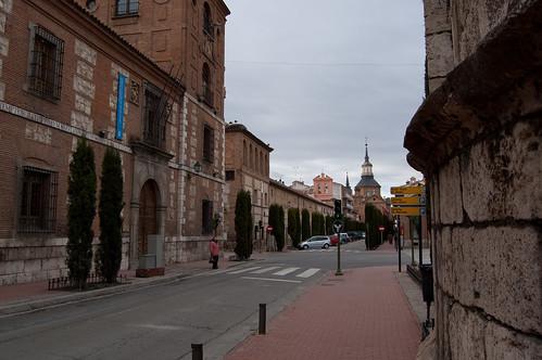 Llegando al extremo Sur de la Plaza de Cervantes
