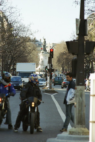 Paris Boulevard Voltaire por paspog.