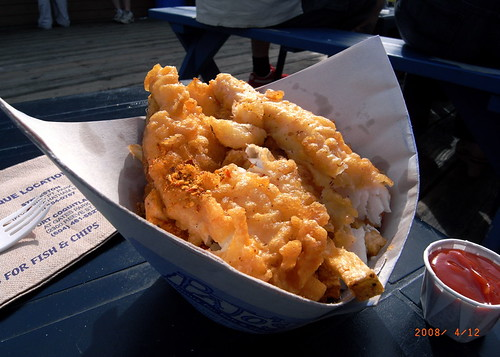 Pajo's Halibut Fish & Chips