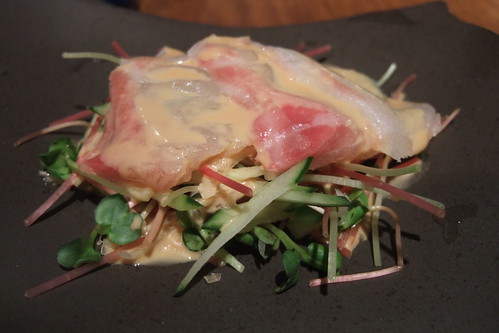 Sea bream salad