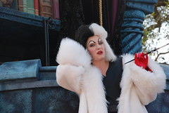 Cruella DeVille in Disney Dreams Come True Parade