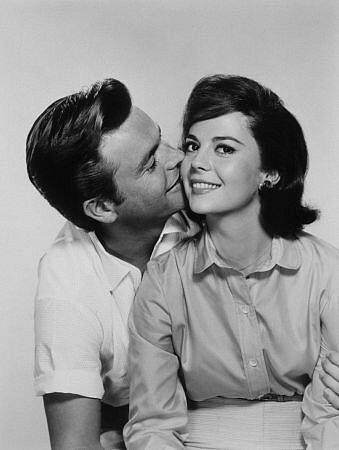 Robert Wagner y Natalie Wood
