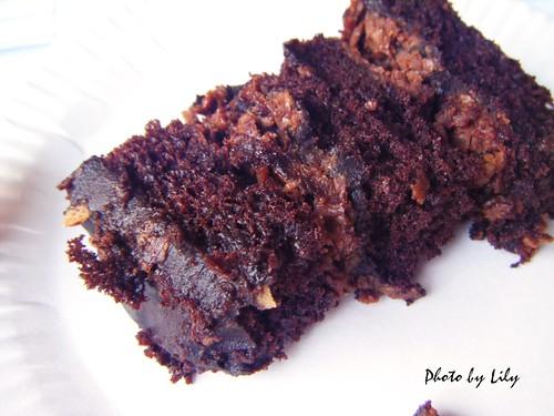 榛果巧克力蛋糕片狀