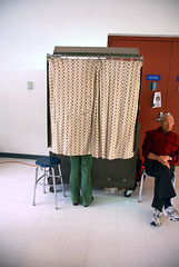 New York State Voting Booth