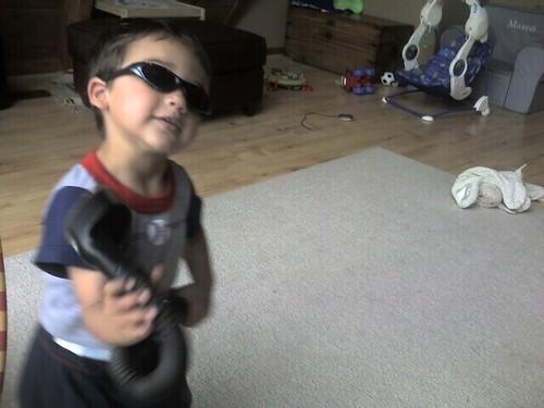 Mason at play