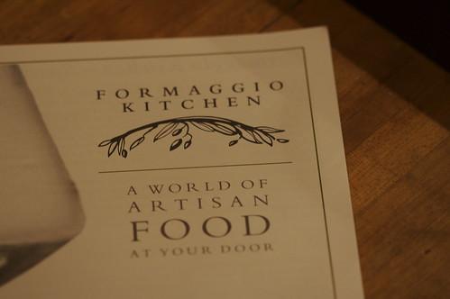 Formaggio Kitchen Catalog
