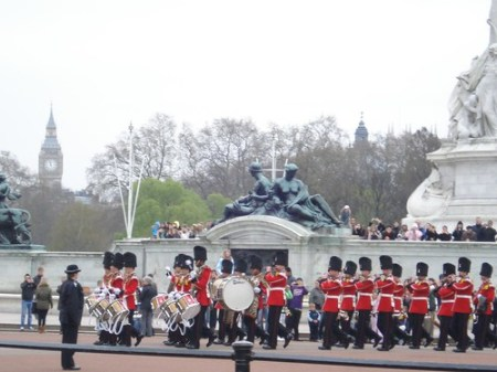 Cambio della Guardia, Buckingham Palace, Londra
