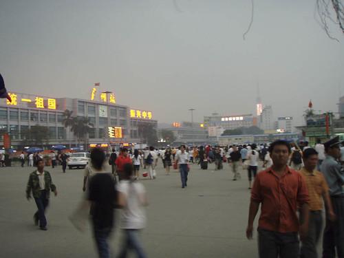 Guangzhou train station