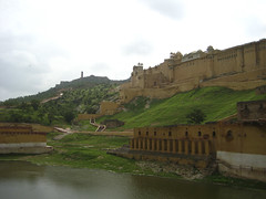 Maotha Lake at Amber Fort