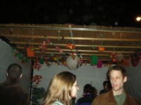 Sixth & I Historic Synagogue's Sukkah / photo taken by Rachel Mauro
