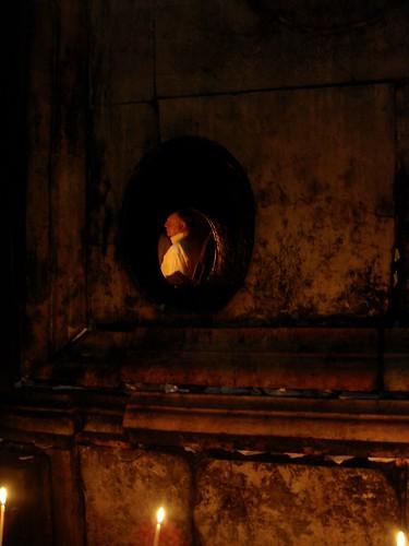 a glimpse into the sepulchre