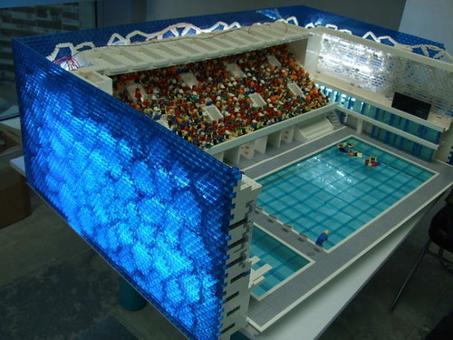 LEGO Sport City (behind the scenes) by Dunechaser.