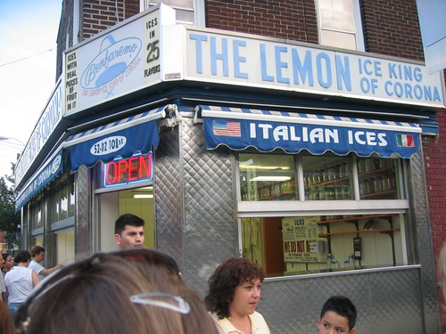 the best italian ices are in queens