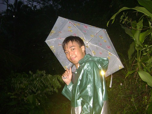 Mountain Night Rain