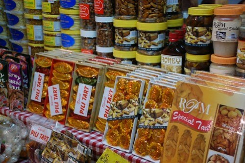 Filipino Delicacies in History Town Intramuros