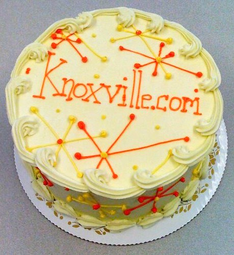 Relaunched http://www.Knoxville.com had cake yesterday!