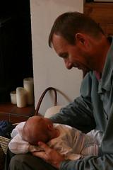 Joshua  with Grandad