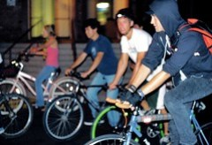 San Jose Bike Party July 18 2008
