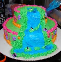 Dora cake I  decorated for Ella's birthday