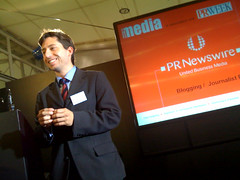 PR Newswire's meet the media