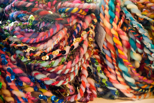 coloury yarns! (by bookgrl)