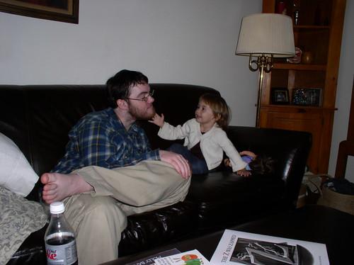 Tegan & Emm's beard