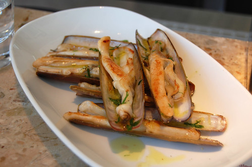 Grilled Razor Clams