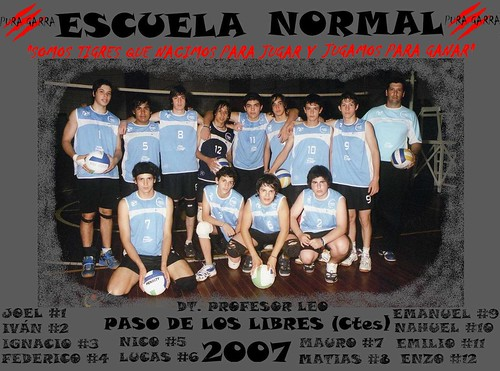 Escuela normal Equipaso voley