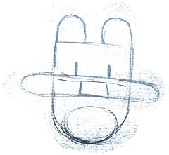 Coelho mini-mi vítima da máfia dos chaveiros de pés de coelho