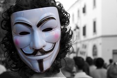 Anonymous - Guy Fawkes mask