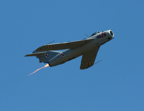 MiG-17 (by planephotoman)