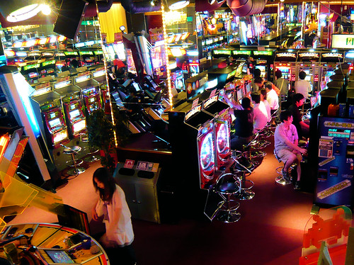 Pachinko stations - Inside Taito Station