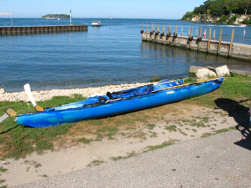 Kayaks Ready For Launch