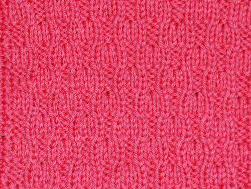Waving Rib Pattern