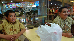 ulul peter @ burger king